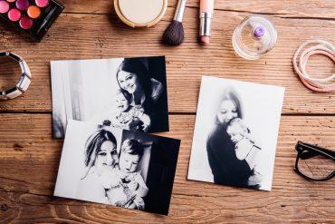 תמונות משפחתיות ומוצרי טיפוח